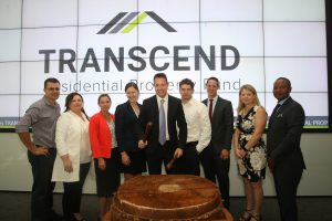 Transcend Listed on the JSE